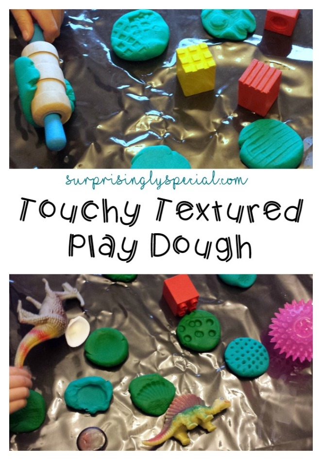 textured play dough