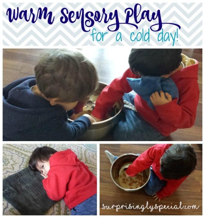 warm sensory play