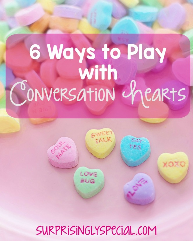 6 ways to play with candy hearts