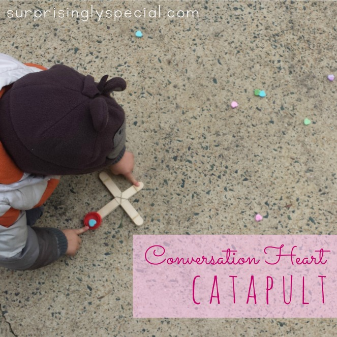 conversation heart catapult