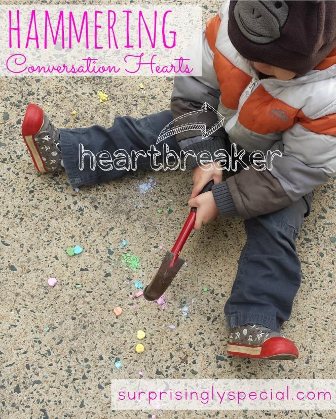 heartbreaker hammering candy hearts