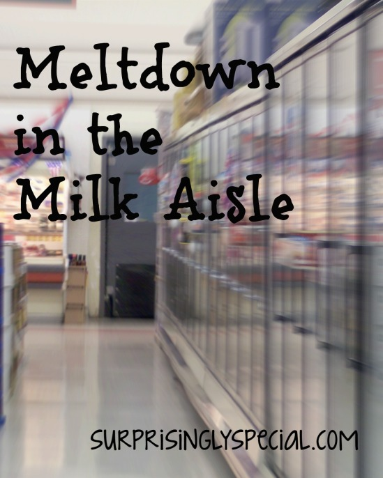 Meltdown in the Milk Aisle