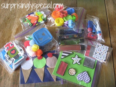 DIY Busy Bag