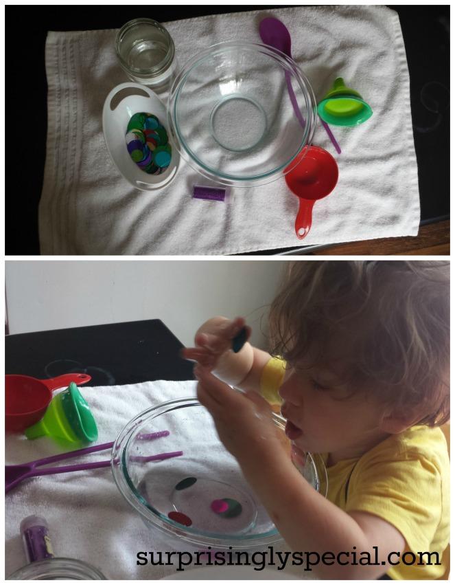 planet soup sensory play