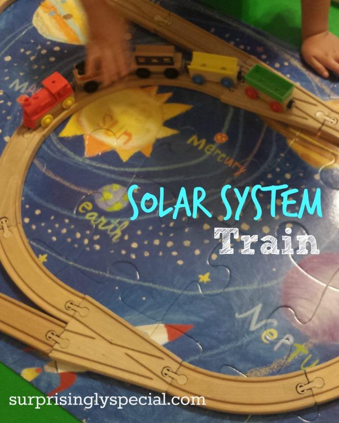 solar system train
